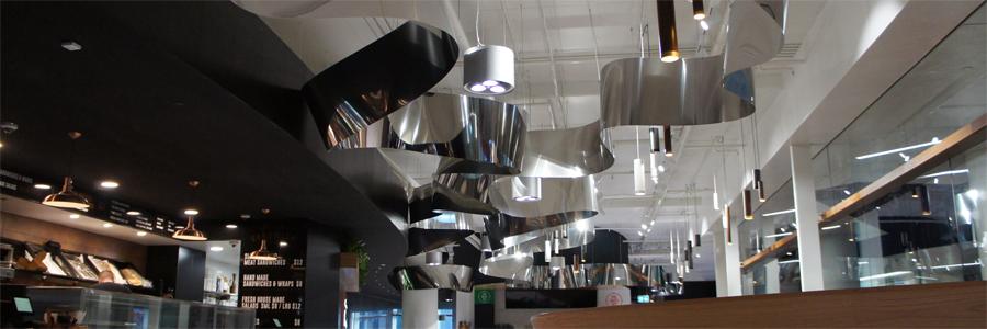 Impressive Stainless Steel Ribbon Graces New Brisbane Food Gallery
