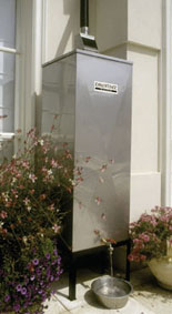Raincatcher - a unique design that separates the atmospheric and roof pollutants from the water.