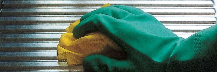 Cleaning your indoor stainless steel