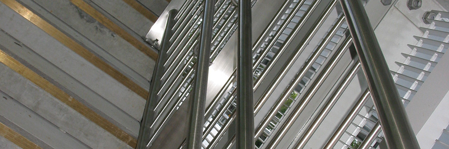 Stainless upgrade on track for rail stations